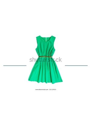 Green Awesome Dress